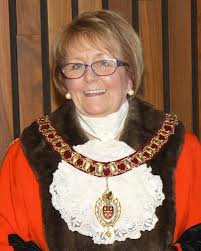 Councillor Julie Riley the new Mayor of Corby elected Friday 27th May 2016